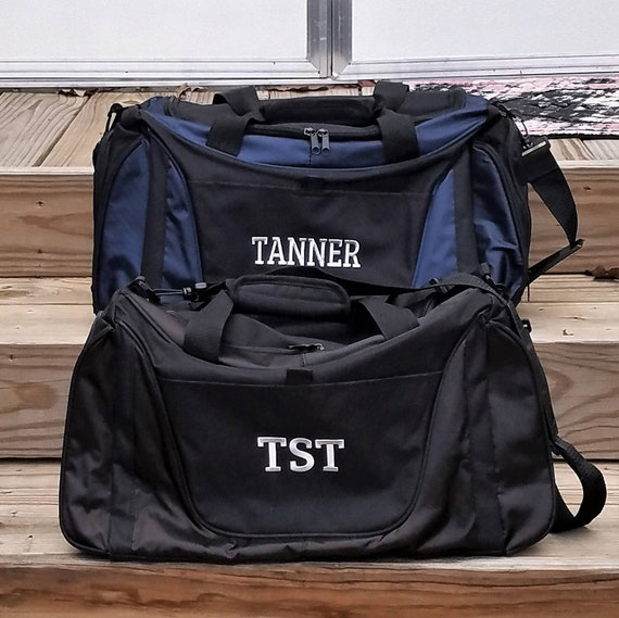 1493288a41 Set of 3 Duffle Bag Mens Gym Bags Personalized Groomsmen