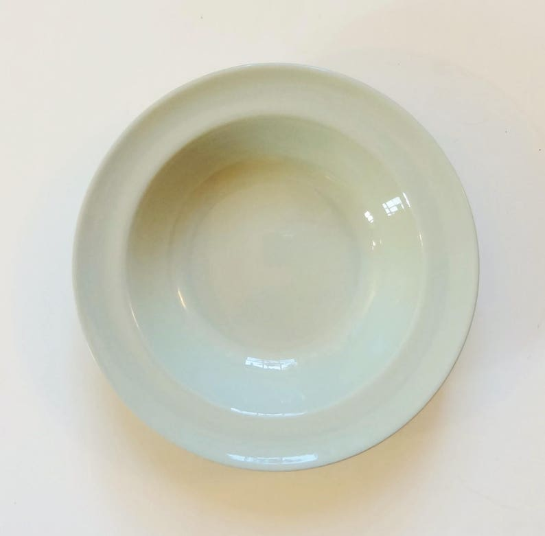 Small Salad or Dessert Bowls PRICE GREATLY REDUCED 1940s Pattern 6 Spode Flemish Green Bowls Mid Century Modern Style
