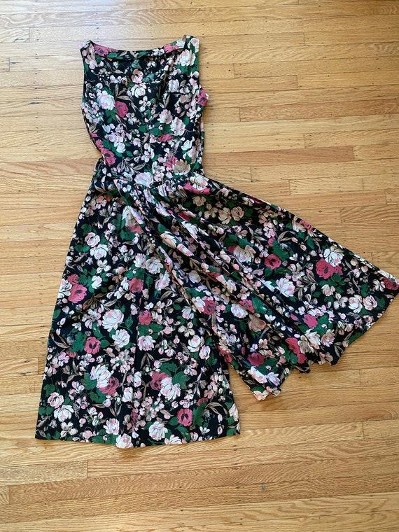 RARE* 1950s Jerry Gilden Wiggle Dress W/Front Plea