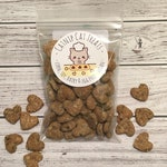 Homemade Cat Treats - Vegan Catnip or Pumpkin - Hand Cut