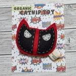 catnip cat toy - deadpool - wool felt