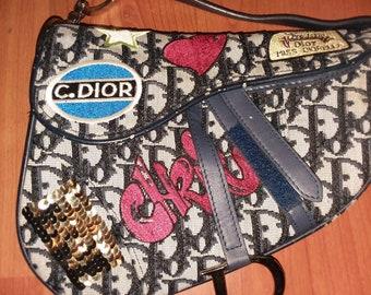 RARE Dior Saddle bag 6602c66175fa5