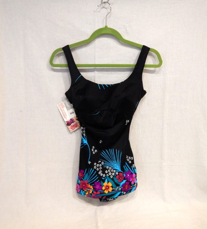 b01dcdf6bf285 Neuf Vintage WonderBra Sirena maillot de bain une pièce | Etsy