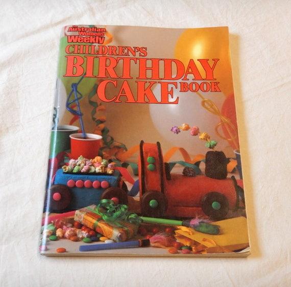1980s Australian Womens Weekly Childrens Birthday Cake Decorating