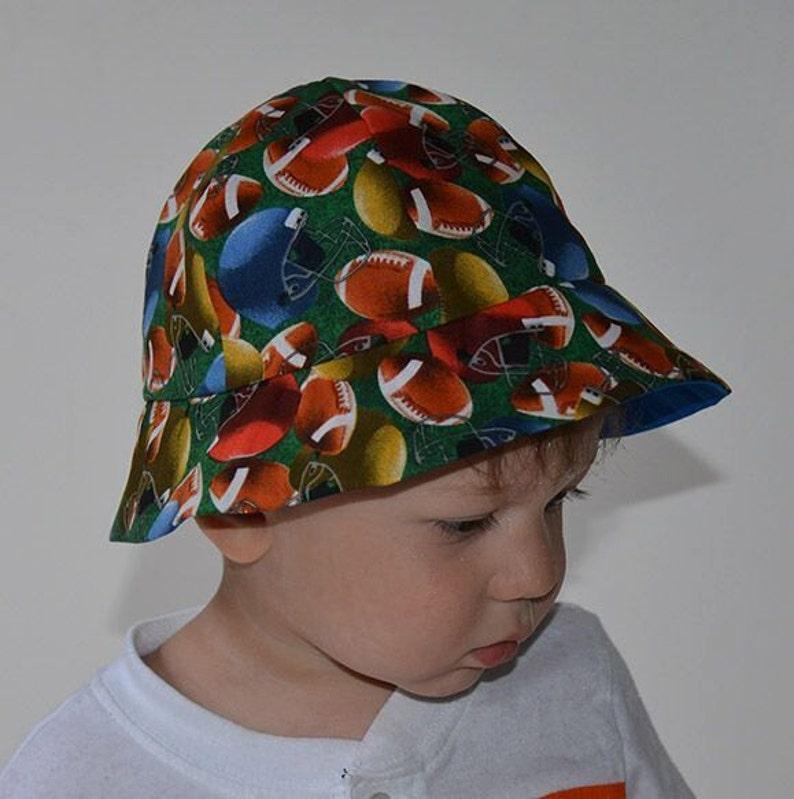 4eaed070985 Football Baby s Hats Baby s Sun Hat Boys Sun Hats