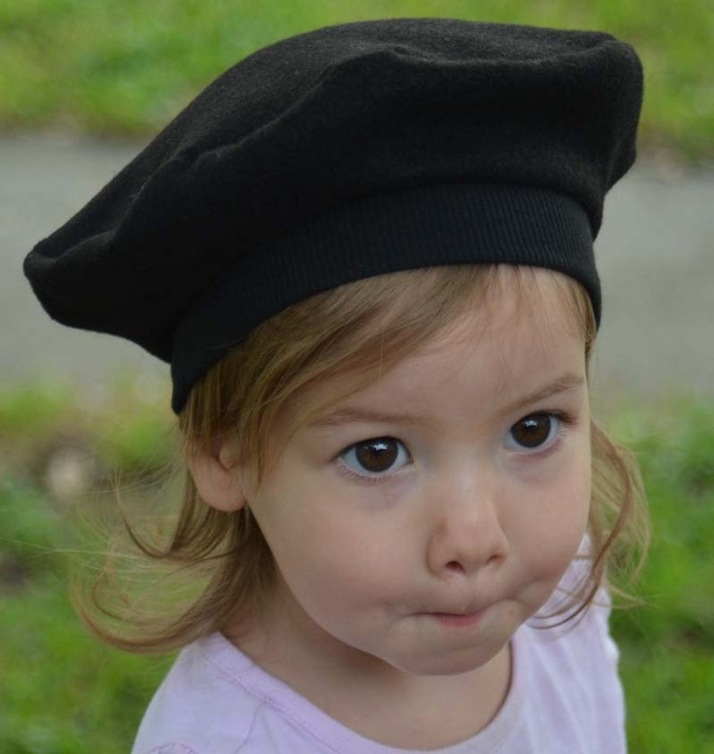 6a1641fbd7 Kids Hats French Beret for Baby Toddler and Children in Felt