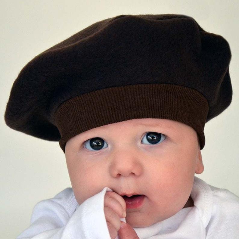 5f9038579ddef Babys French Beret CHOOSE COLOR Kids Hat Outer Wear Kids