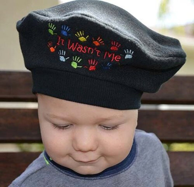 Baby French Beret Kids Hat It Wasn t Me Choose Colors Kids  26c3f714a24a