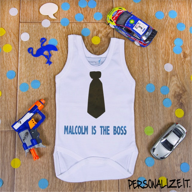 9be64c59274f8 I Am The Boss Onesie The Boss Baby Onesie Baby Shower Gift New
