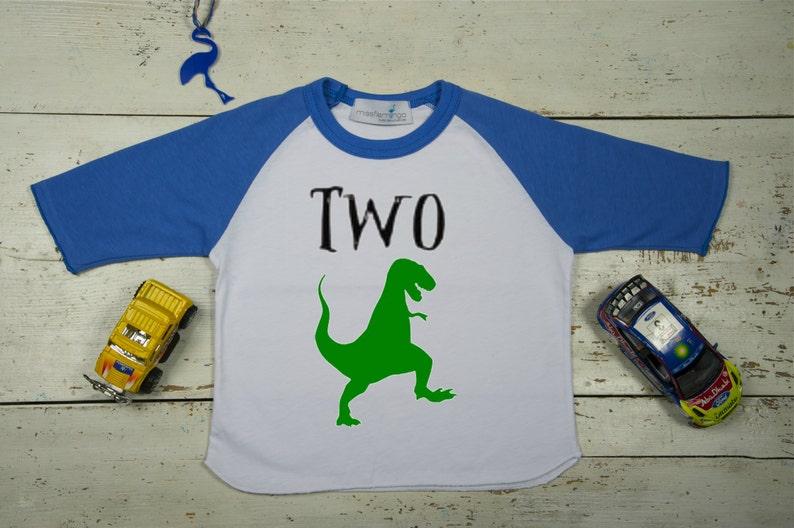 5c0291cf Second Birthday Boy-Birthday Boy Dinosaur Shirt-Second   Etsy