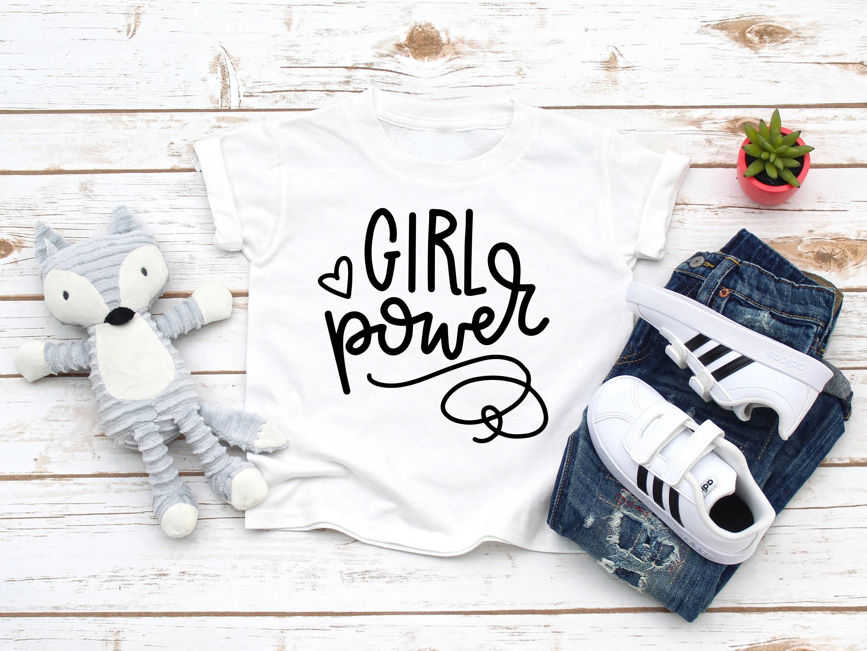 297b77f2 Girl Power Shirt, Girl Power Toddler Shirt, Girl Power, Grlpwr Shirt,  Feminist Graphic T-Shirt, Toddler Girl Clothes, Grl Pwr tee, Retro