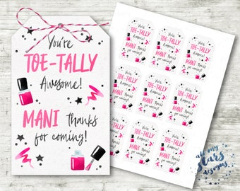 photograph about Mani Thanks Free Printable named Mani due Etsy