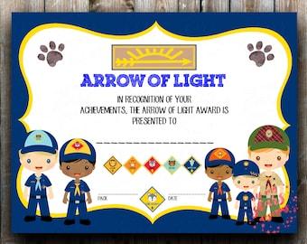 Cub Scout Invitation Etsy