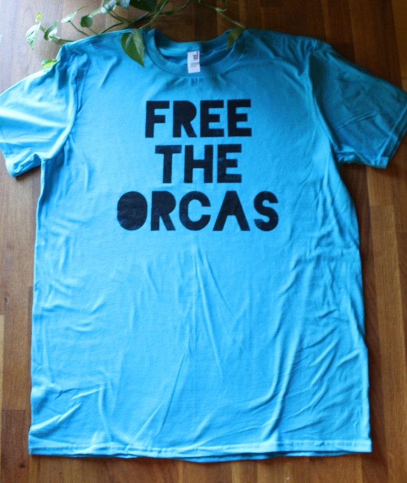 Shirt Mano The Dipinta Orcas A Gratis T StenciledEtsy xrdBCoe