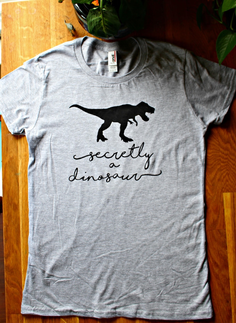 Secretly a dinosaur T rex love shirt Women s T Shirt  c49782c88a