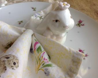 Bunny Napkin Rings Etsy