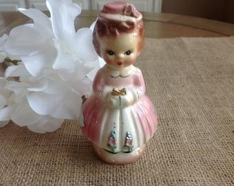 Vintage figurine Sweet girl Lefton/Napco Style 1950s