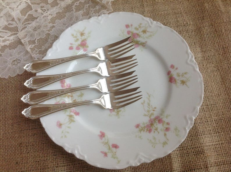 Superior Extra Plate Cold Meat  Cold Cut Forks Set of 4