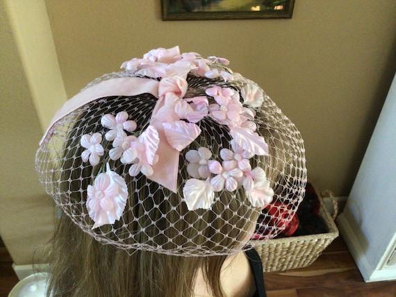 I Offell Pink Blusher Hat, San Francisco Vintage … - image 9