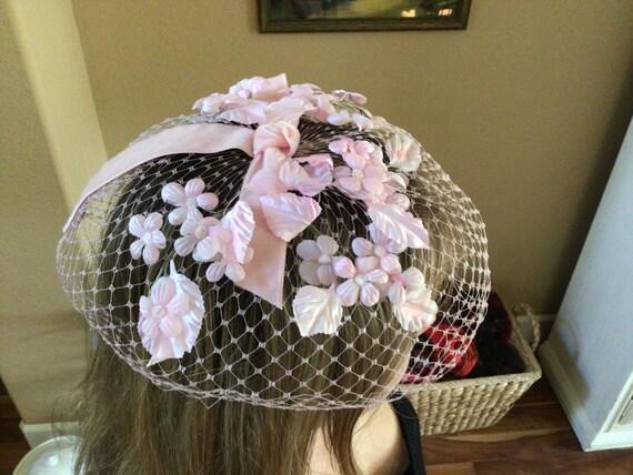I Offell Pink Blusher Hat, San Francisco Vintage … - image 4