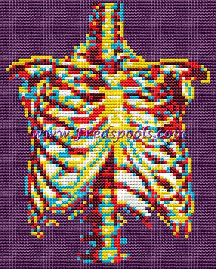 Humano cuerpo cruz puntada Kit costillas moderno cruz | Etsy