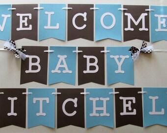Hospital Door Welcome Banner For New Baby Door Decoration Etsy