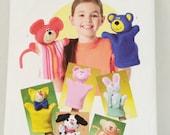 Soft Stuff  Butterick Pattern for hand Puppets