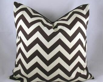 Chevron throw pillows