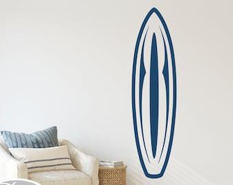 Surfboard Decal, 60 Boards to Choose From, Surfing Sticker, Beach Decor, Surfer Wall Art, Kid's Surf Room, Beach Den, Playroom Decor B-123