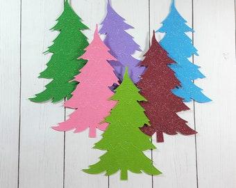 Origami Christmas Trees - Sugar and Charm   270x340