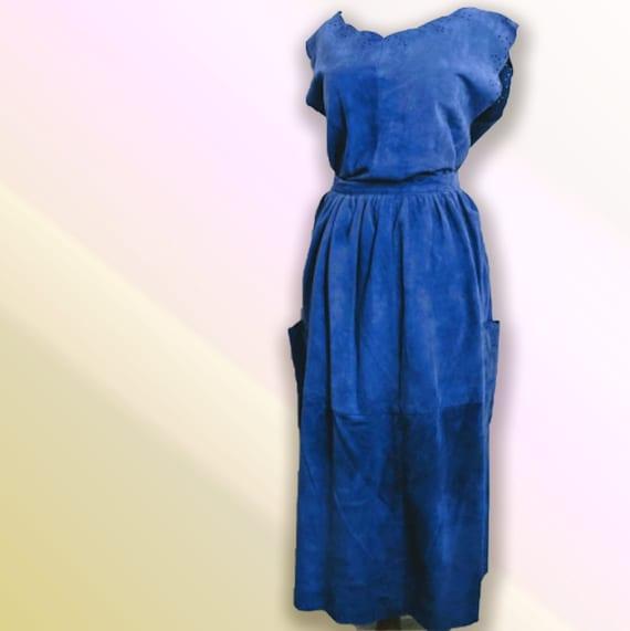 Suede Set | Vintage Suede Suit | Women's Designer