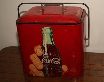 Coca cola cooler | Etsy