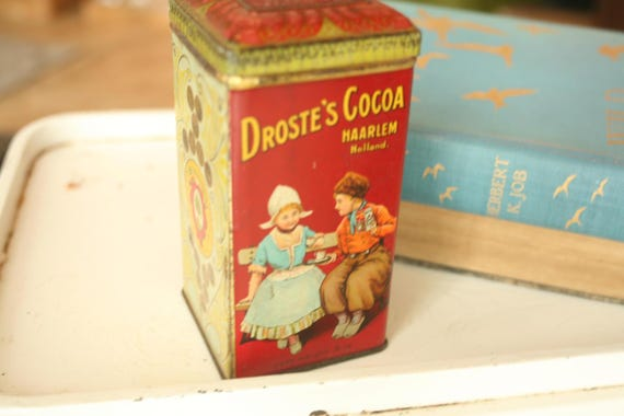 Retro Tabak Keukens : Zeldzame vintage tin decor van het huis oude blikken etsy