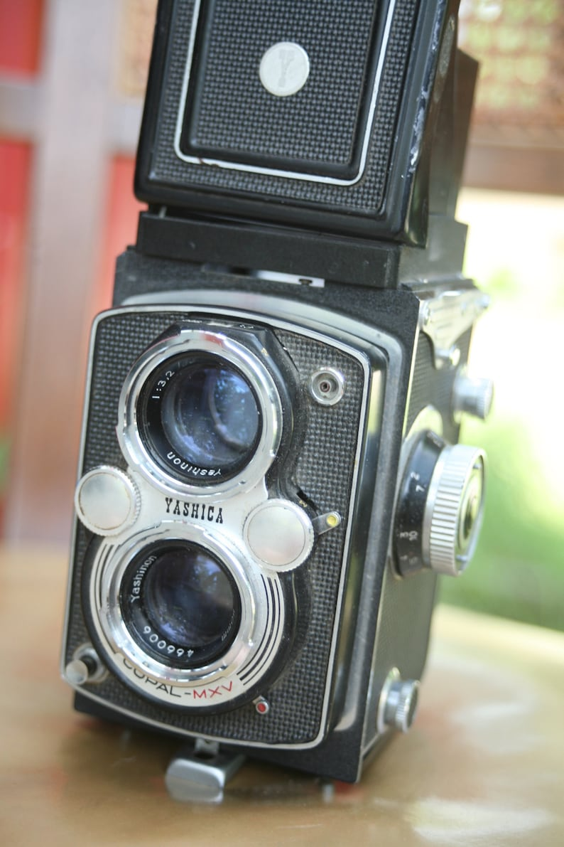 Rare Japanese Camera Yashica Copal MXV Camera Set Design Camera Rare Home Decor Collectible NOT TESTED