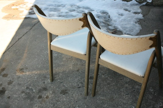 Fantastic Set Of Two Mid Century Modern Coronet Folding Chairs White Wood Wedding Wedding Chairs Pdpeps Interior Chair Design Pdpepsorg