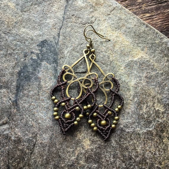 party jewelry of the 70s Boho party earrings filigree-rare disco balls made of wire-metal braid Disco Fever ear clips