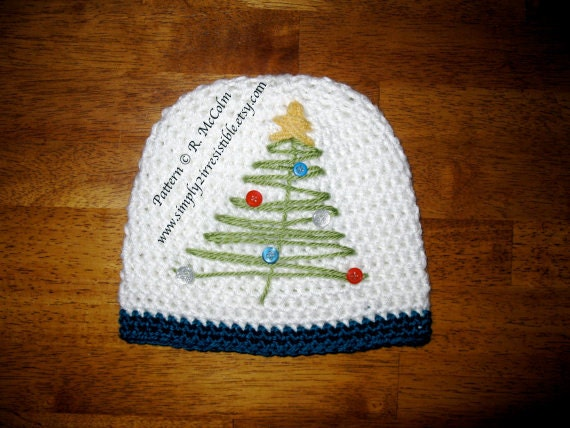 Items Similar To Christmas Tree Hat