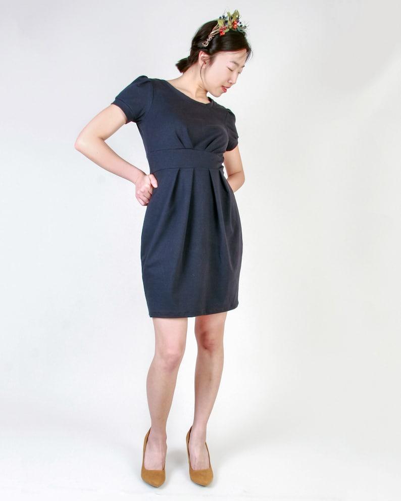 Kleid GUESS marine elegantes Kleid Damen kurzes | Etsy
