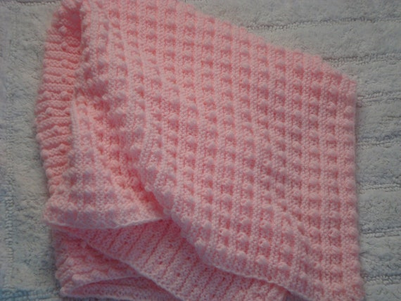 Knitting Pattern Baby Blanket Pdf Patterns Bobble Baby Etsy