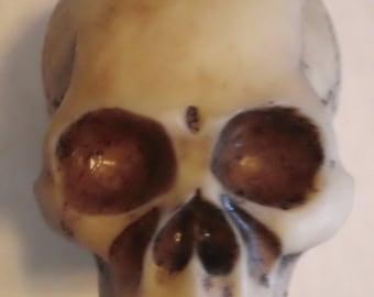 No Jaw Skeleton Head Skull Beer Tap Handle Keregator Brewery Barware