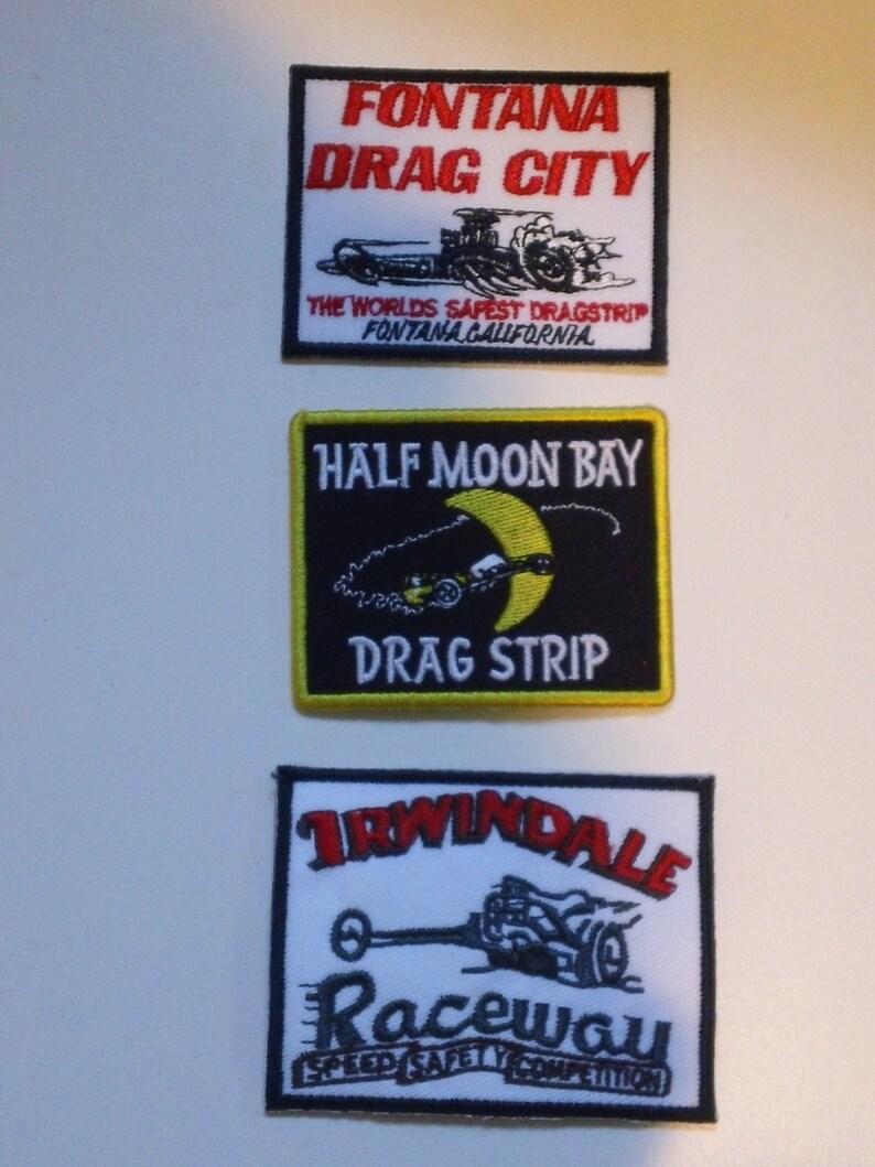 Accessoires & Fanartikel Irwindale Raceway Rennen Aufnäher
