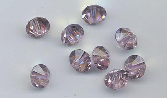 Twelve rare vintage Swarovski crystal beads  Art. 42 5307 10  0457662da1e9