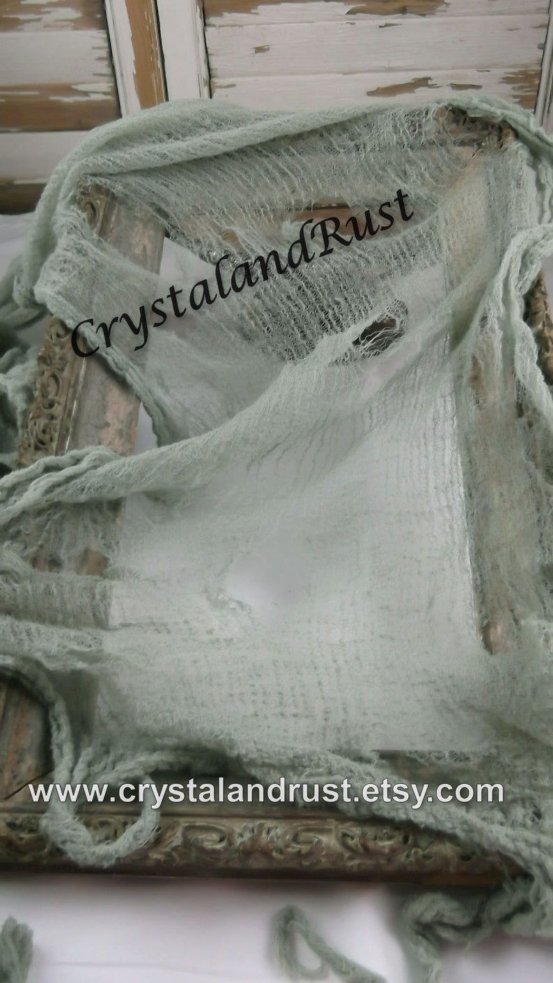 Napkins Drapes Gauze Table Runner Halloween Decor Dead Moss Halloween Cheesecloth Baby Props