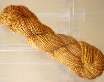 Hand Dyed Alpaca Yarn in Mystic Pecan Sport Wt 250 yds / 100 gr