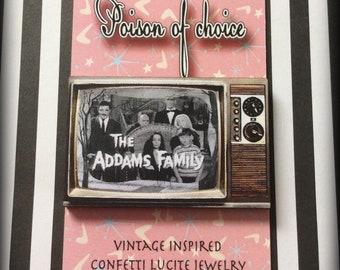 The Addams family brooch