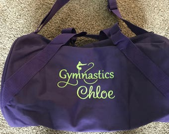 Personalized Gymnastics Duffel Bag - Gymnastics Duffle Bag ff2b56e8c1ff8