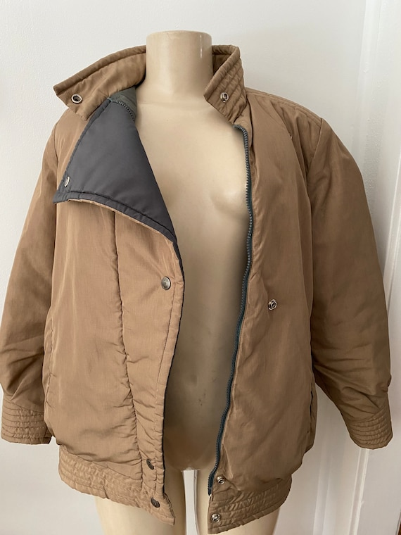 vintage bill blass puffer coat, winter coat size … - image 6