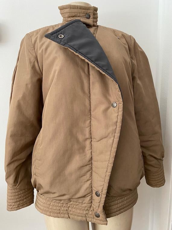 vintage bill blass puffer coat, winter coat size … - image 2