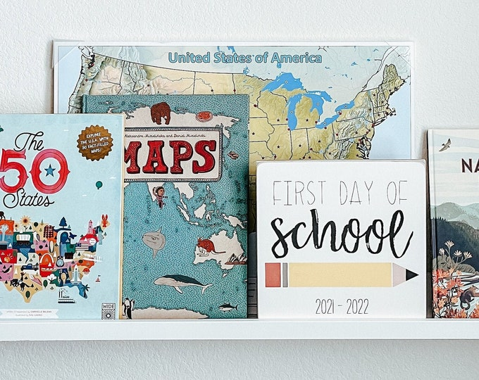 First Day of School Sign | Back to School | First Day of School Photo Prop | Photo Prop