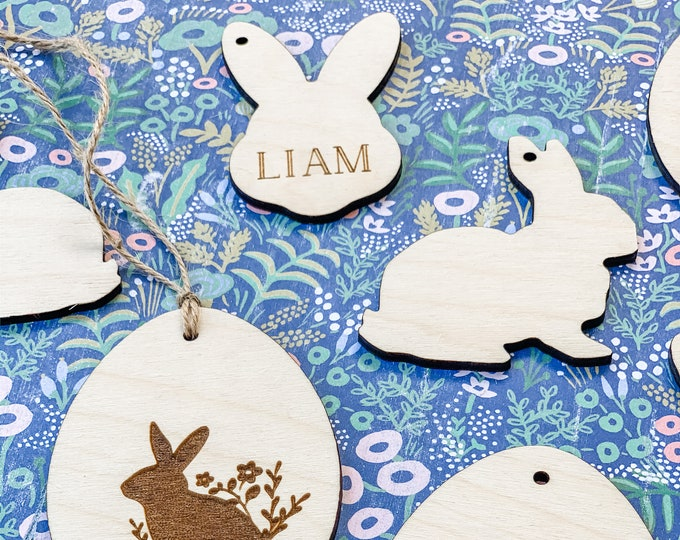 Easter Tags | Basket Tags | Personalized Tags | Custom Tags | Name Tags